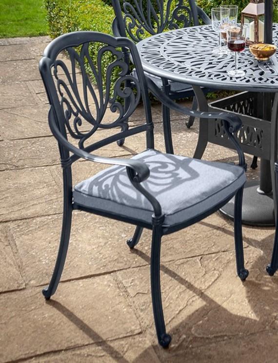 Hartman Amalfi Garden Furniture, Cast Aluminium Garden Furniture