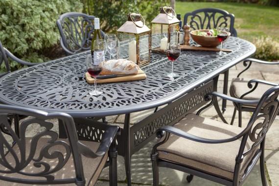 Hartman Amalfi 6 Seat Oval, Amalfi Garden Furniture Range From Hartman