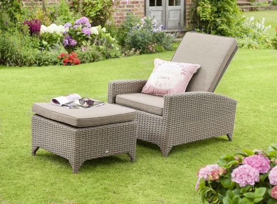 Hartman Hartman Madison Garden Furniture Recliner And Footstool Rattan Garden  Furniture   The Garden Furniture Company